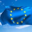 Flag of Europe - Stock Photo