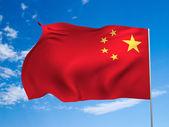 Flag of China — Stock Photo