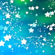 Star background - Stock Photo