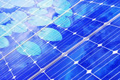Samostatný solární — Stock fotografie