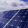 Stock Photo: Solar panel detail