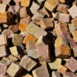 Stock Photo: Porphyry cubes
