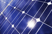 Solar-panel-detail — Stockfoto