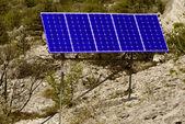 Панели солнечных батарей — Стоковое фото