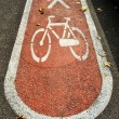 Bicycle road - Stock Photo