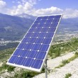 Experimental solar panel - Stock Photo