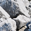 Dolomite rock textures — Stock Photo