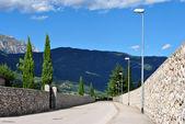 Асфальтированная дорога — Стоковое фото