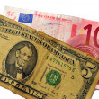 Forex euro dollaro — Stock Photo
