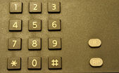 Phone keypad — Foto de Stock