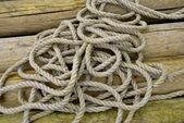 Hemp rope — Stock Photo