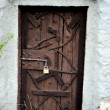 Wooden door — Stock Photo #6130491