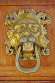 Bronze door — Stock Photo