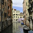 Stock Photo: Channels of Venice