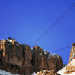 Dolomites in winter — Stock Photo