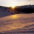 Stock Photo: Alpine sunset