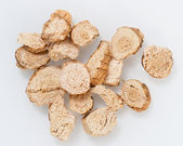 Dried Galangal Slices — Stock Photo