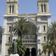 Stock Photo: Cathedral of St. Vincent de Paul, Tunis
