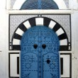 Stock Photo: Blue door in Sidi Bou Said