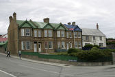 Town hall in Port Stanley, Falklands — Stock Photo