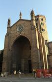 Basilica of piacenza — Стоковое фото