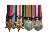 Ish Army Military Medals. — Stock Photo