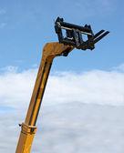 Hydraulic Fork Lift Truck. — Stock Photo