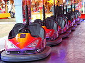 Dodgem Cars. — Stock Photo