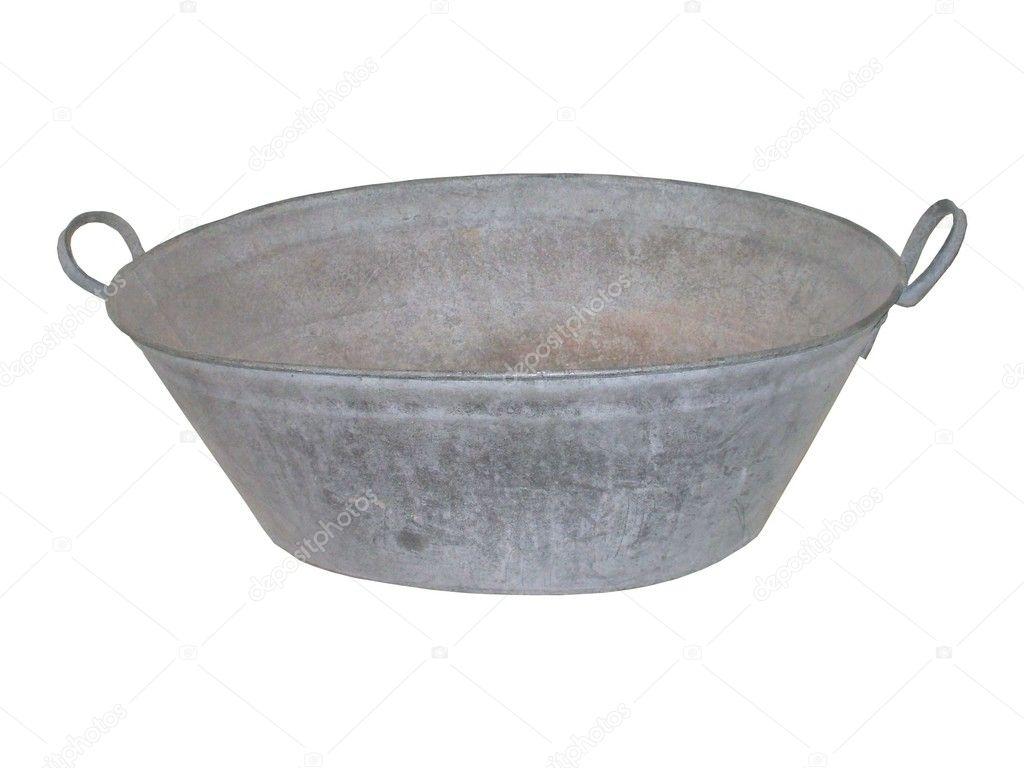 tin bath tub stock photo daseaford 6531362. Black Bedroom Furniture Sets. Home Design Ideas