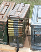 World War Two Ammunition — Stock Photo