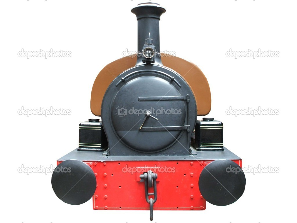 The Front of a Traditional Steam Train. — Stock Photo #6621947