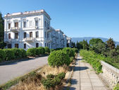 Livadia palace complex. Crimea, Ukraine — Stock Photo