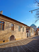 Empty street in the old Evpatoria, Ukraine — Stock Photo