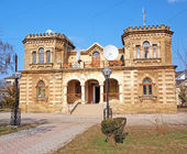 Old house in Evpatoria, Crimea, Ukraine — Stock Photo