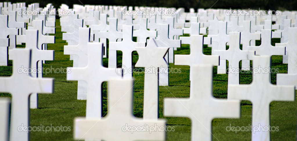 Cemetery in Normandy — Stock Photo #5566699