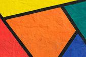 Mur coloré — Photo