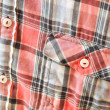 Plaid shirt detail — Stock Photo #5848704