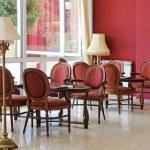 室内的咖啡餐厅 — 图库照片