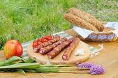 Cena de verano — Foto de Stock