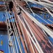 Stock Photo: Ship masts