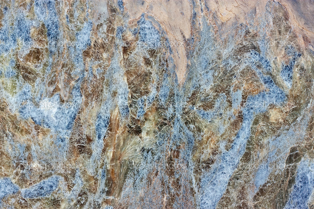 We see Gray, blue and red granite Texture  Stock Photo #6593823