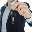 Businessman gives the keys to the car — Stock Photo #5984259