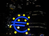 Frankfurt - European Central Bank - EZB - Euro — Stock Photo