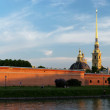 Peter and Paul Fortress panorama — Stock Photo