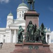 Monument to Alexander II in Helsinki — Stock Photo