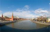 Moskva River, Kremlin — Stock Photo