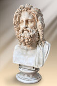 Bust of Zeus, Otricoli ( Museo Pio-Clementino, Vatican). — Stock Photo