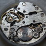 Old clock mechanism — Stock Photo #6164386