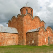 Church of the Transfiguration (the Savior on Kovalev). Veliky Novgorod — Stock Photo #6687350
