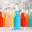 Stock Photo: Cool summer drinks with ice